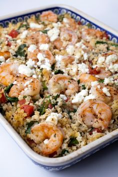 Here's a casserole that's easy enough for a weeknight and good enough for company.