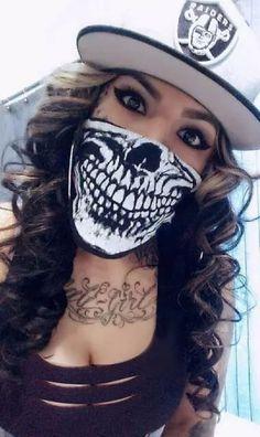 Mens Style Discover She Bad want that skull bandana Oakland Raiders Raiders Girl Raiders Football Oakland Raiders Sexy Tattoos Girl Tattoos Fille Gangsta Chola Girl Arte Dope Chola Style Oakland Raiders Logo, Raiders Football, Sexy Tattoos, Girl Tattoos, Chica Chola, Chola Girl, Fille Gangsta, Catrina Tattoo, Chola Style