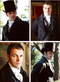 Jonny Lee Miller as Mr. George Knightley in Emma - Everyone loves Darcy (and so do I), but Knightley is my perfect man: he's smart, kind, adorable, sassy, & snarky... not to mention gorgeous (especially Jonny Lee Miller and Paul Rudd).