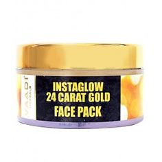 Check out this great facepack: Instaglow 24 Carat Glow Facepack