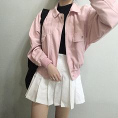 Korean Fashion – How to Dress up Korean Style – Designer Fashion Tips Kawaii Fashion, Cute Fashion, Asian Fashion, 90s Fashion, Girl Fashion, Autumn Fashion, Fashion Looks, Fashion Outfits, Korean Fashion Pastel