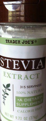 Trader Joe's Stevia Extract by Trader Joe's. $18.99