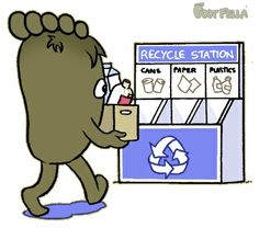 Did you know recycling 1 plastic bottle can generate enough energy to power a 60w light bulb for 6 hours?  #Recycle please and become a source of energy. ; )