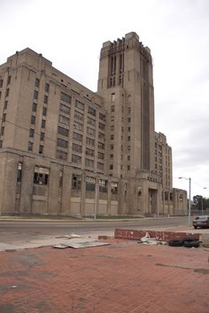 The art deco Sears Crosstown Building sits vacant in Memphis