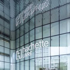ENSEIGNES LUMINEUSES / HACHETTE / VANVES – GULLIVERRE Led, Facade, Neon Signs, Illuminated Signs, Acrylic Tumblers, Mirror, Facades