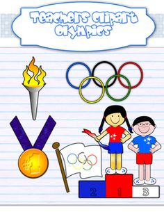 8 best olympic theme party images on pinterest olympics olympic rh pinterest com Olympic Games Clip Art Olympic Rings Clip Art