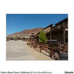 Calico Ghost Town, California Poster