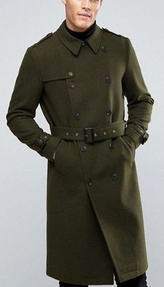 Trench Coat Men Style OOTD