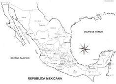 Destinos: Mapa de Mexico