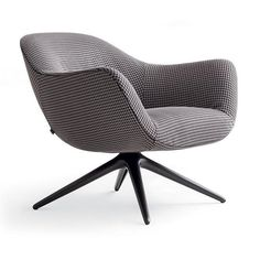 Poliform Mad Chair Swivel Armchair is a new product of 2016 and enriches the exclusive Poliform Mad collection. Poliform Mad Chair Swivel Armchair has renewed lines than the classic Mad, and its peculiarity is the stem that dwells in three parts on a swivel base. Legs, unlike the classic Mad Chair, are in matte gunmetal painted choice, color Nickel Matt Brown and Color Brown Polished Nickel. Even for the Poliform Mad Chair Swivel Armchair the choice of the product in three different...