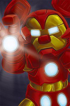 Disney/Marvel - Iron Mouse