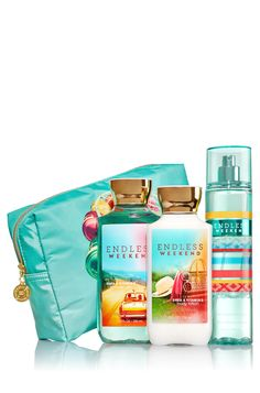 Endless Weekend Summer Love Gift Set - Signature Collection - Bath & Body Works