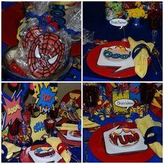 super hero table