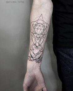 Tatuagem criada por Ilya Anisimov de São Petesburgo, Russia. Pensamentos complicados. Dot Tattoos, Music Tattoos, Sexy Tattoos, Hand Tattoos, Sleeve Tattoos, Body Art Tattoos, Piercings, Esoteric Tattoo, Caduceus Tattoo