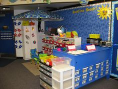 beach classroom | The Splash Zone is our meetingarea. We meet here each day for a ...