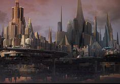 Anti-gravity city - Robin Florie