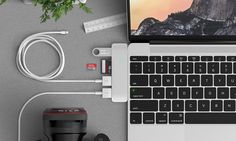 Products we like / Adaptor / USB / Aluminium / Organisation / The USB Adaptor That Blends Into Your MacBook