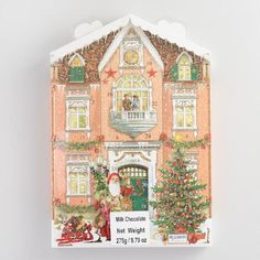 One of my favorite discoveries at WorldMarket.com: Heileman Victorian House Advent Calendar