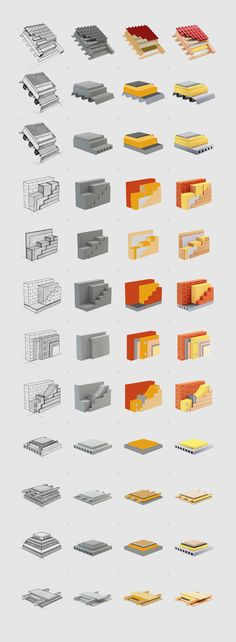 Иконки для Rockwool, Technical design © Александр Западенко