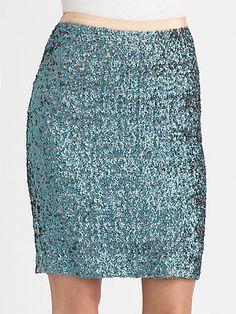 Sequin Skirt