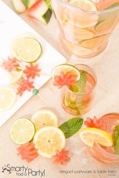 Refreshing Summer Drink Recipe | www.SmartyHadAParty.com