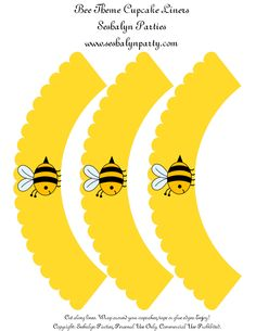 Bee Party Theme Free Printables | Seshalyn Events & Party Planning
