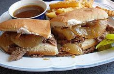 Drick's Rambling Cafe: Slow Cooker Cola Roast Beef au Jus