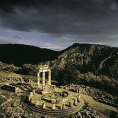 Delphi, Greece By Charlie Waite