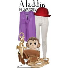 Aladdin, created by lalakay on Polyvore #disney