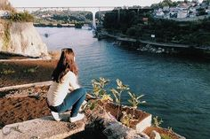My secret place in Porto with the most amazing view od Douro River! Portugal Travel, Secret Places, River, Amazing, Instagram, Porto, Rivers