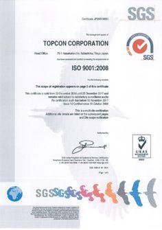 品質保証活動 | TOPCON