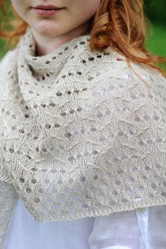 Ravelry: Lida Shawl by Quince and Co.