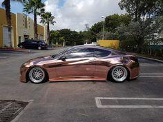 rose gold chrome - Google Search Bugatti Veyron Sport, Bugatti Veyron Interior, Bugatti Cars, Rose Gold Car, Rose Gold Chrome, Car Paint Colors, Vinyl Wrap Car, Chrome Cars, Pontiac Firebird