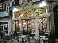 Frente da Loja de café Majestic