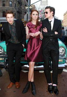 Arthur Darvill, Karen Gillan, and Matt Smith