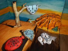 Awesome project: The Persistence of Memory Cake by Katarina Eichlerova