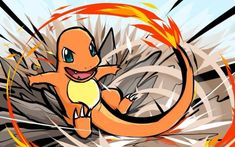 Find images and videos about pokemon on We Heart It - the app to get lost in what you love. Fire Pokemon, Pokemon Fan Art, My Pokemon, Cool Pokemon, Pokemon Games, Pikachu, Pancham Pokemon, Charmander Charmeleon Charizard, Pokemon Charmander