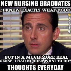 They taught you by the book. Too bad life isn't by the book. Nursing Pins, Nursing Memes, Funny Nursing, Rn Humor, Medical Humor, Nclex Questions, Nurse Jokes, Nursing Profession, New Nurse
