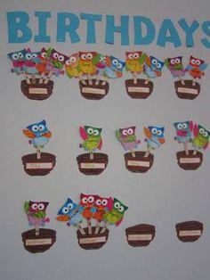 Výsledek obrázku pro board birthday classroom