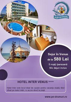AdminPedia vă recomandă Hotel Inter, locul ideal pentru vacanţa visată, situat pe malul mării, cu acces direct pe plajă.