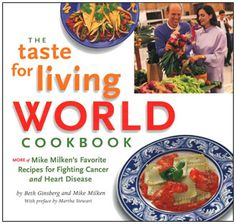 A follow-up to The Taste for Living Cookbook, The Taste for Living WORLD Cookbook includes more than 100 healthy versions of the best-loved dishes from around the world. Adhering closely to the principles of the first cookbook, chef Beth Ginsberg shows how you can enjoy everything from moussaka to tiramisu without having to indulge in unhealthy eating habits. Hardback. 130 pages.