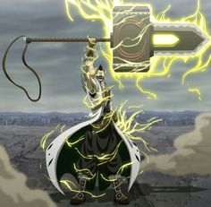 Magni Kenpachison ( Thor Bleach crossover )