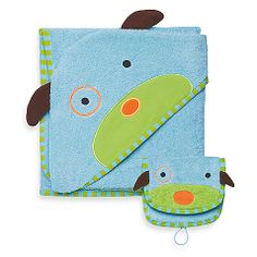 SKIP*HOP® Zoo Towel & Mitt Set in Dog
