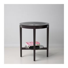 "MALMSTA Side table  - IKEA. Width: 24 ¼ "" (62 cm) Height: 3 ¼ "" (8 cm) Length: 25 ½ "" (65 cm) Weight: 20 lb 8 oz (9.31 kg)"
