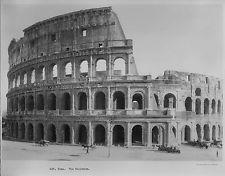 1929 Rome. Up Close, the Coliseum Historic Photo