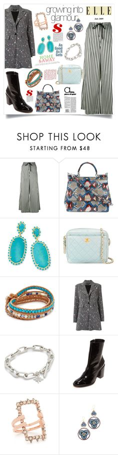 """Glamour Queen"" by justinallison ❤ liked on Polyvore featuring McQ by Alexander McQueen, Dolce&Gabbana, Kendra Scott, Chanel, Chan Luu, Olympiah, Rebecca Minkoff, Dear Frances, Alexis Bittar and Miguel Ases"
