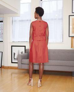 High Neck Dress, Dresses For Work, Fashion, Turtleneck Dress, Moda, La Mode, Fasion, Fashion Models, Trendy Fashion