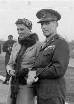 Princess Marina, Duchess of Kent with her cousin, King George of Greece