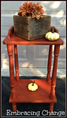 Petite Little Telephone Table Reveal - Embracing Change