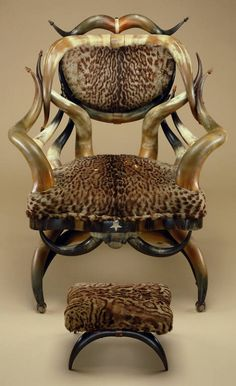 When I first saw this Platform rocking chair and stool (about 1880 - 1890)  by Friedrich Wenzel in the Minneapolis Institute of Arts, I knew I wanted one.